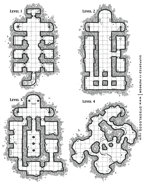 Dungeon of the Goblin Lotus (1200 dpi)