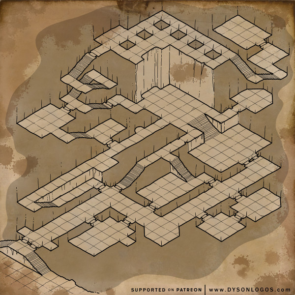 Forlorn Halls of the Mongrelfolk (300dpi promotional - no commercial license)