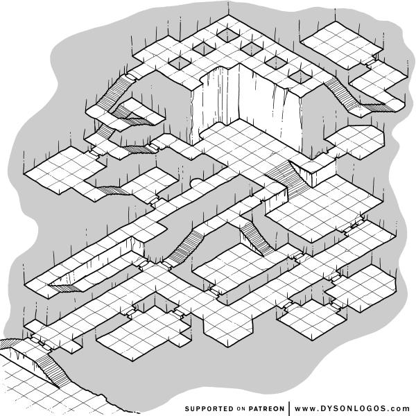 Forlorn Halls of the Mongrelfolk (1200 dpi)