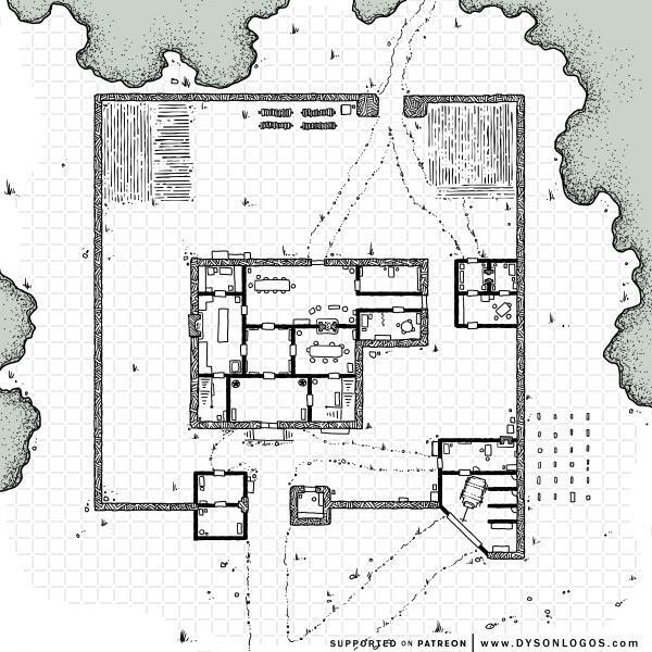 Tarsakh Manor Grounds (1200 dpi)