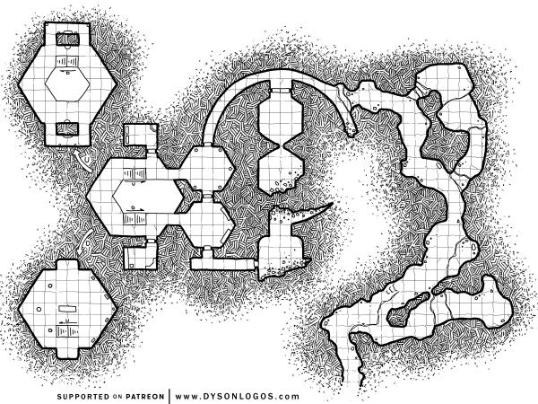 The Ashen Mountain Chambers (1200 dpi)