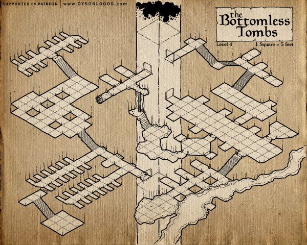 The Bottomless Tombs - Part 4 (300 dpi promo - no commercial license)