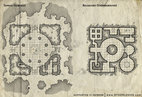 Lost Reliquary (300 dpi promotional - no commercial license)