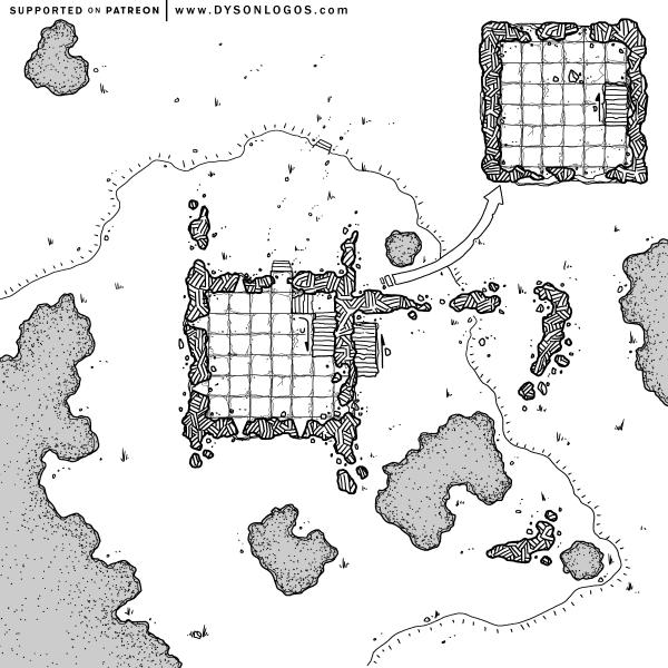Ruins of Baug Skyreach (1200 dpi)