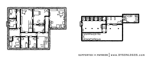 Tarsakh Manor - Upper Floors (1200 dpi - no grid)