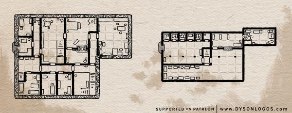 Tarsakh Manor - Upper Floors (300dpi promo - no commercial license)