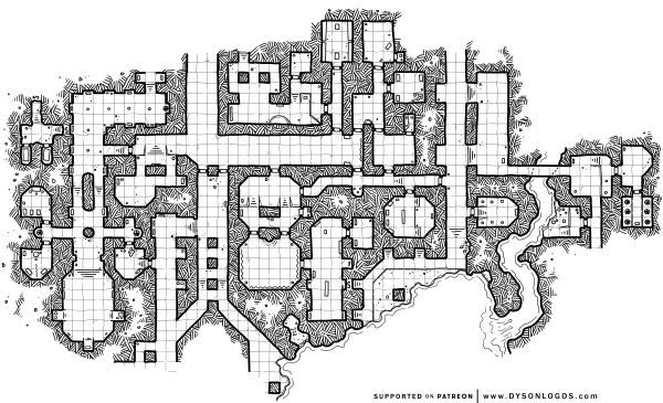 The Ochrenvault - Map 2