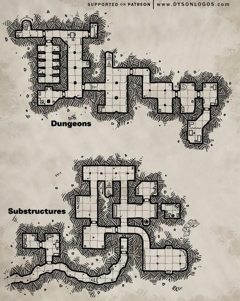 The Dungeons of Zath Gor