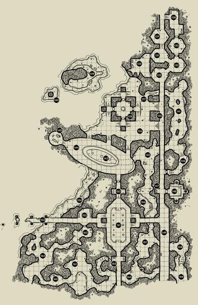 The Ochrenvault - Map 4
